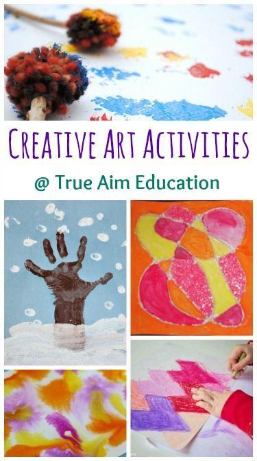 Creative art activities for kids
