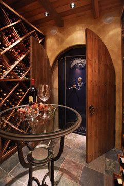 Wine Cellar - traditional - wine cellar - portland - Daniel Gordon | Renovation Artistry