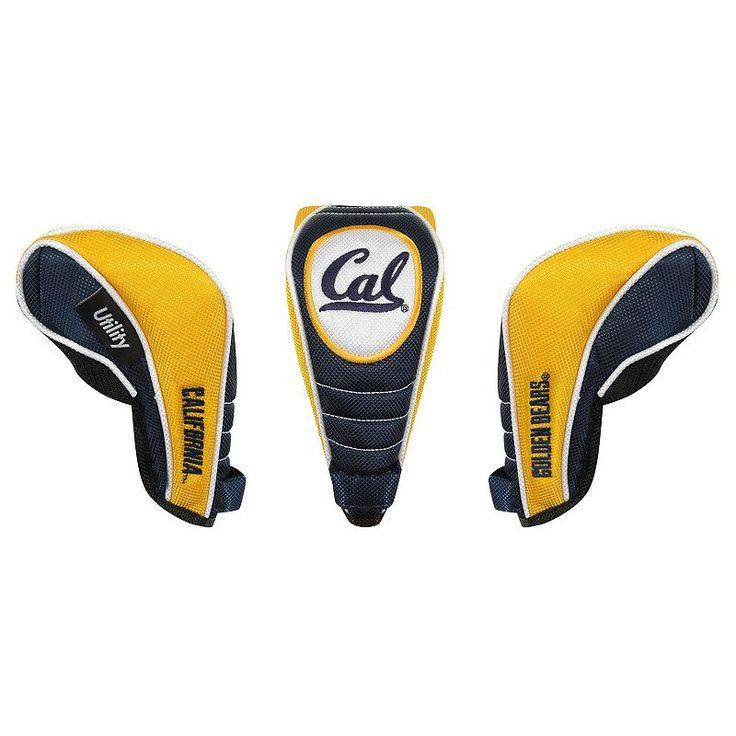 Team Effort Cal Golden Bears Utility Golf Headcover, Multicolor