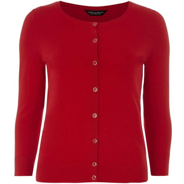 Dorothy Perkins Red Cotton Cardigan ($28) ❤ liked on Polyvore featuring tops, cardigans, red, dorothy perkins, cotton cardigan, red top, cardigan top and red cotton cardigan