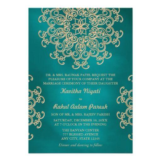 best 25+ teal wedding invitations ideas on pinterest | laser cut, Wedding invitations