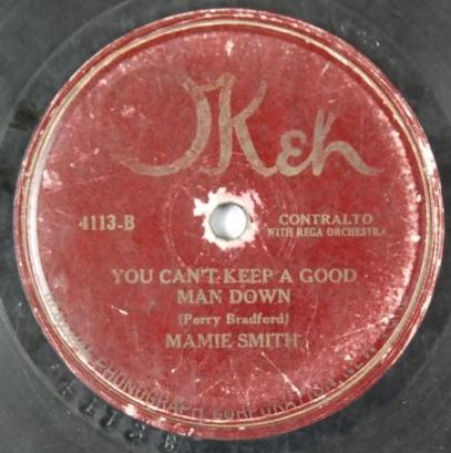 Just scored a beater copy of Mamie Smith's first recording in 1920! #78rpm #raregroove #jazz #blues #pop