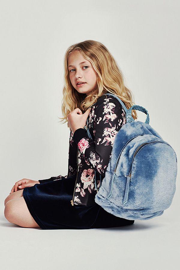 Super cute backpacks, faux real.