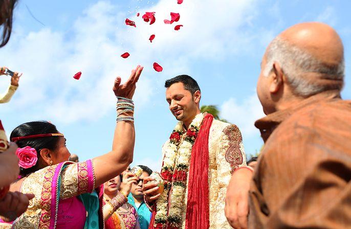 Hindu Traditions Ceremony at Moon Palace Cancun #destinationwedding