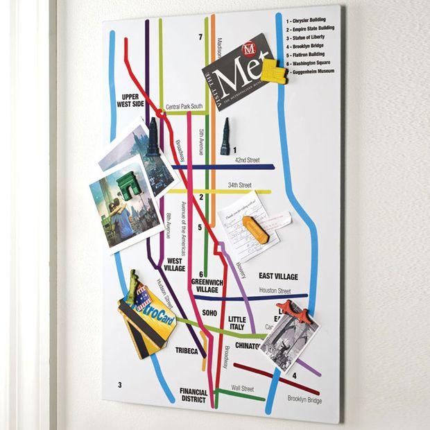 Metro Magnet Board