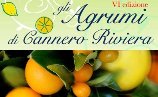 6th edition of the Citrus Festival in Cannero Riviera at Lake Maggiore