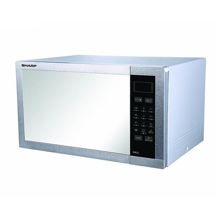 220 Volt Kitchen Appliances Part - 27: Sharp R-77ARST Microwave Oven With Grill 34 Liter Capacity 220-240 Volts  50Hz