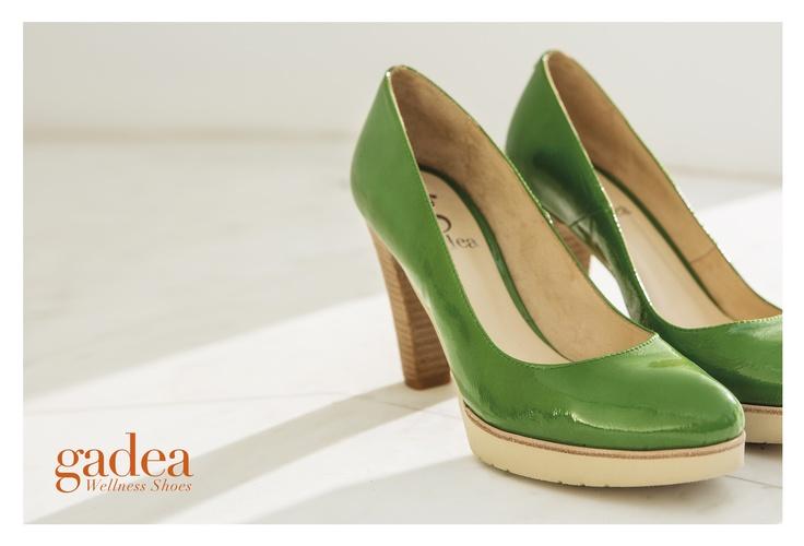 Foto de campaña primavera-verano 2013 de Gadea Wellness Shoes