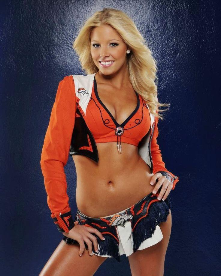 Denver Broncos Cheerleader Brittany Welcome to Heaven - http://touchdownheaven.com/category/categories/denver-broncos-fan-shop/