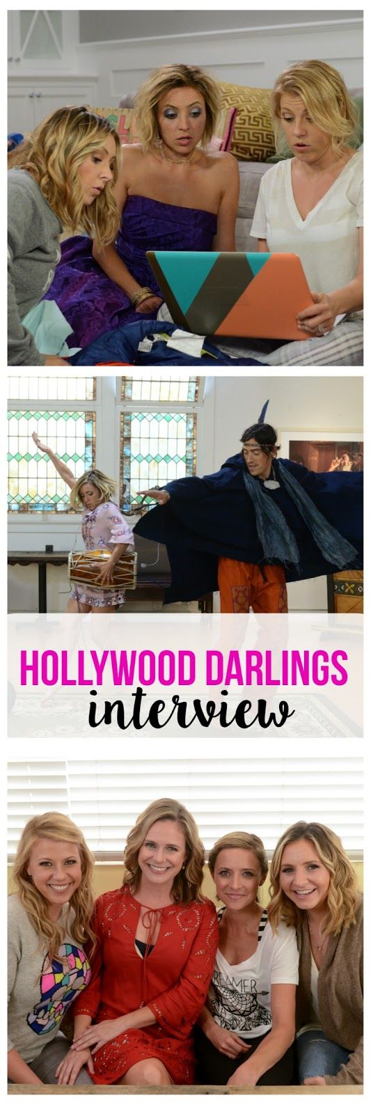 Hollywood Darlings: Interview with Christine Lakin, Beverley Mitchell & Jodie Sweetin
