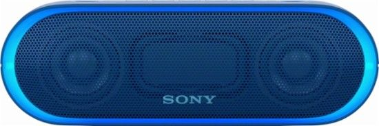 Sony - XB20 Portable Bluetooth Speaker - Blue - Front_Zoom