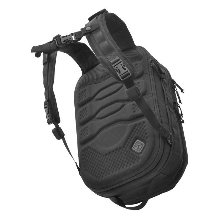 _ a revolutionary new type of tactical pack built almost exclusively from a lightweight thermoformed shell which protects items like optics and other crushables _ it is also very suitable for motorcycle