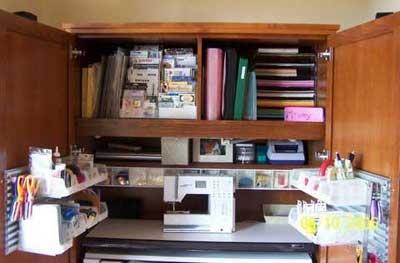 17 Best Hobby Hideaway Images On Pinterest Craft Storage
