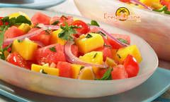 Salade de mangue créole. Source : Kreyol Cuisine