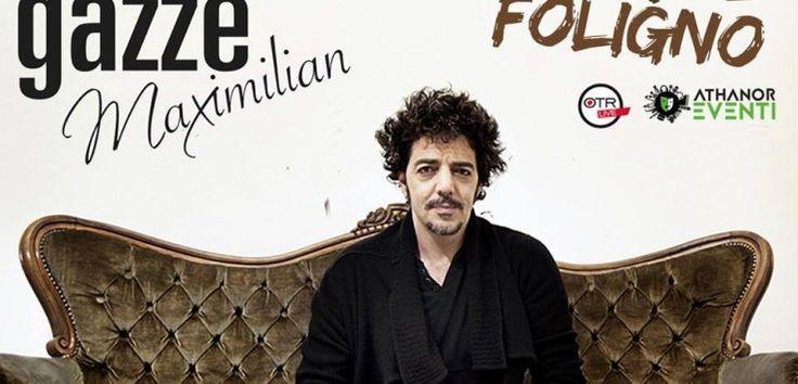 Sarà Max Gazzè ad animare il venerdì folignate con il suo concerto al Palapaternesi. L'appuntamento è per le 21.15, costo del biglietto 25,30 euro.