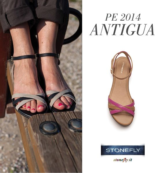 Antigua: black and taupe version