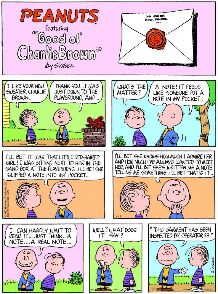 list of peanuts comic strip characters