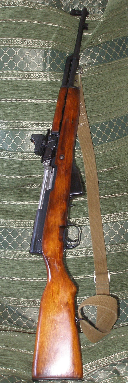 СКС(Самозарядный карабин Симонова)/ SKS- Semiautomatic carbine of Simonoff