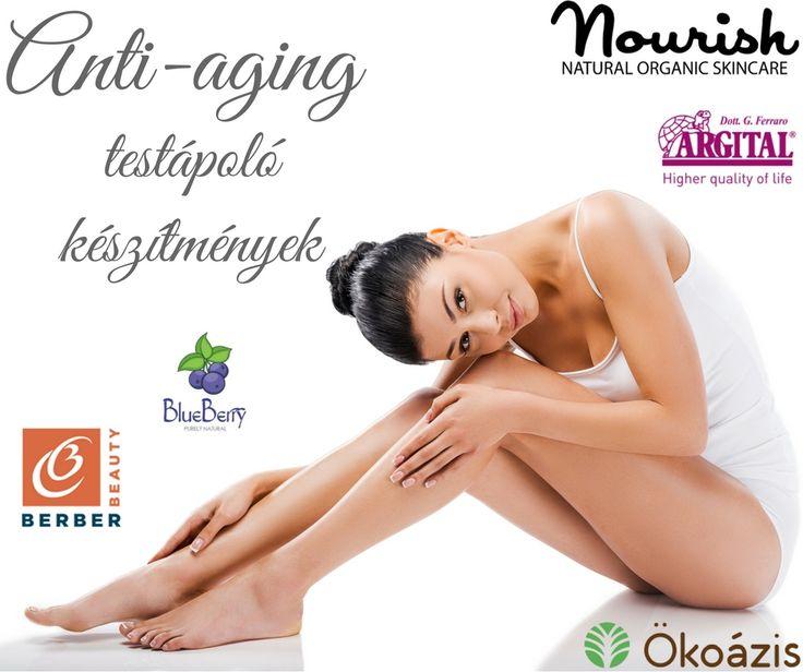 Anti-aging testápoló készítmények