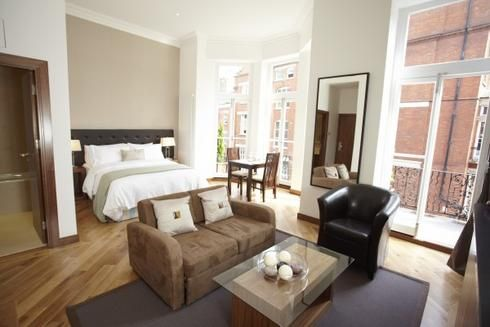 """If you're staying in the city for a short while, there are many short let apartments in London available for booking. Whether your definition of """"short"""" is a few days or a few months."""