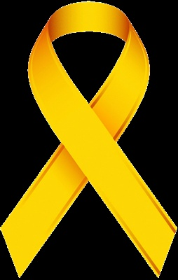 Yellow Ribbon Go 4 The Goal Fight Against Pediatric