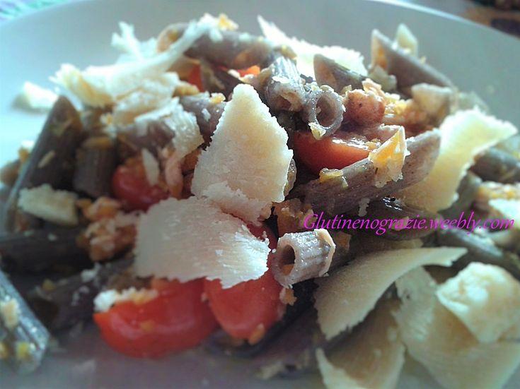 Pasta di grano saraceno, senza glutine, bilanciata e a medio Carico glicemico