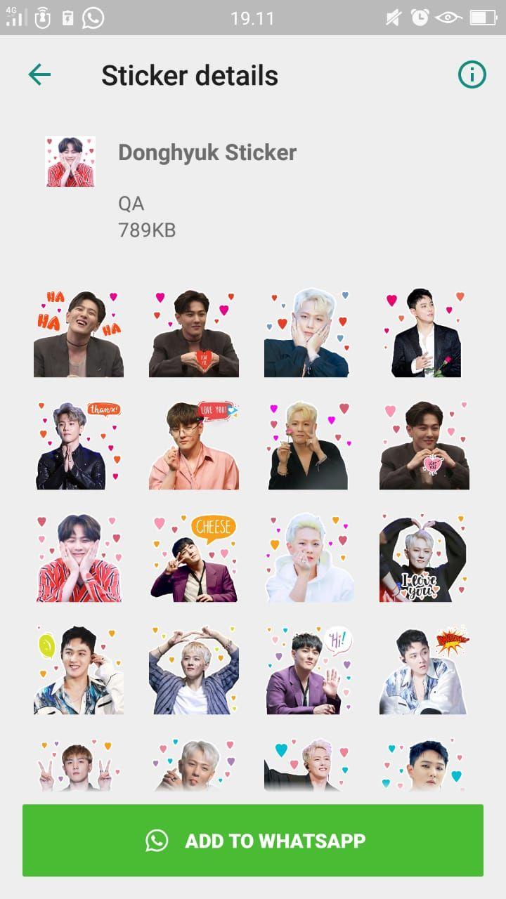 Donghyuk Whatsapp Apps Ikon Kpop Idol