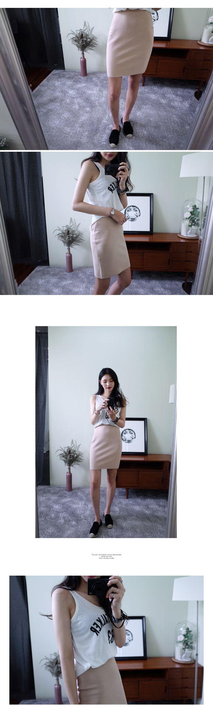 レーヨンタイトニットスカート・全4色スカートスカート|レディースファッション通販 DHOLICディーホリック [ファストファッション 水着 ワンピース]