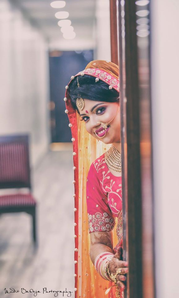 Photo by Mudit Baweja Photography, Delhi #weddingnet #wedding #india #indian #indianwedding #weddingdresses #mehendi #ceremony #realwedding #lehenga #lehengacholi #choli #lehengawedding #lehengasaree #saree #bridalsaree #weddingsaree #indianweddingoutfits #outfits #backdrops  #bridesmaids #prewedding #photoshoot #photoset #details #sweet #cute #gorgeous #fabulous #jewels #rings #tikka #earrings #sets #lehnga