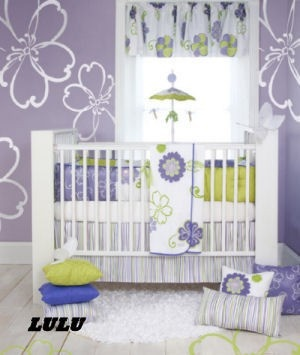If I ever have a girl, I want a purple nursery for her