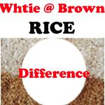 http://www.indianbazars.com/2017/05/difference-between-white-and-brown-rice.html difference between white and brown rice, know the health benefits of rice