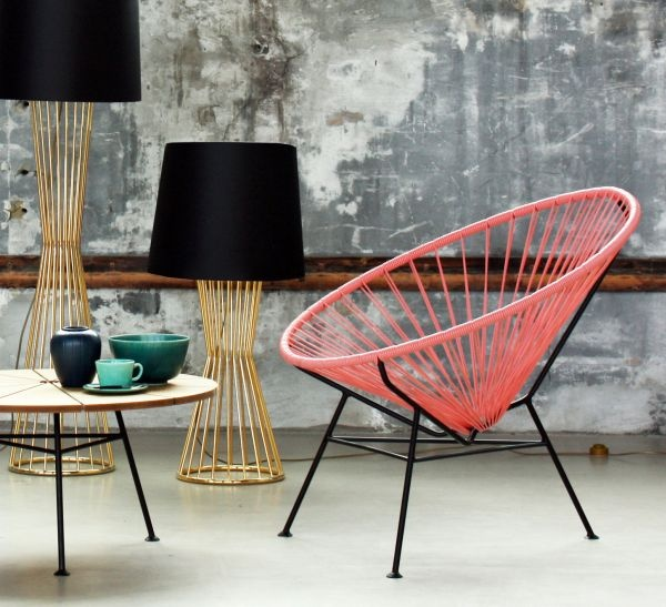 Condesa chair in pink by OK Design, available at Tempo Berlin. http://www.tempoberlin.com