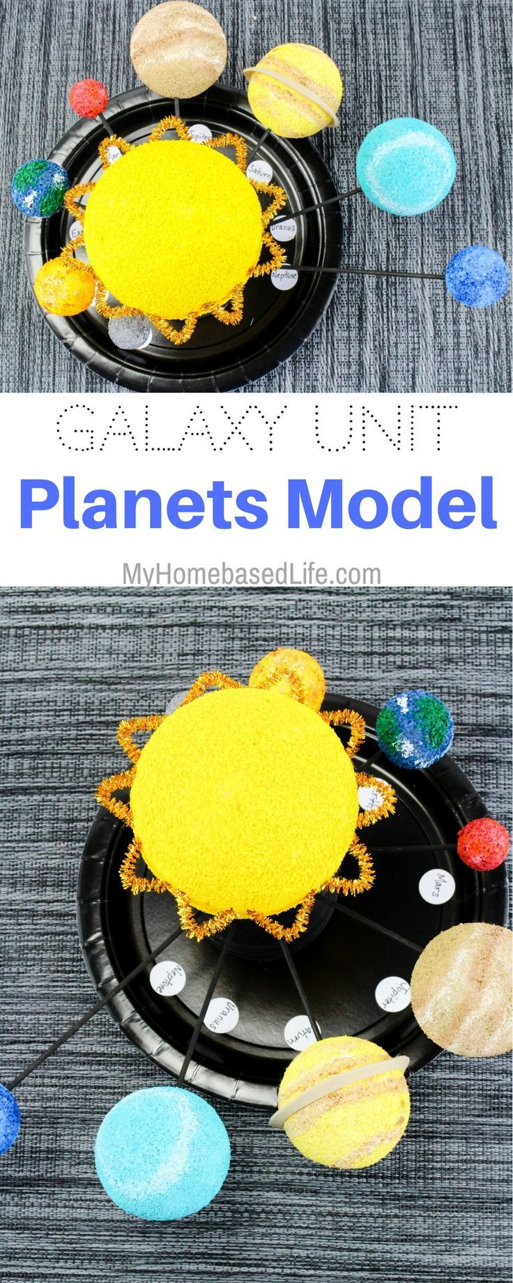 Put the planets in your child's hands with this Solar System Planet Model DIY! Give your little astronauts a solar system of their very own.