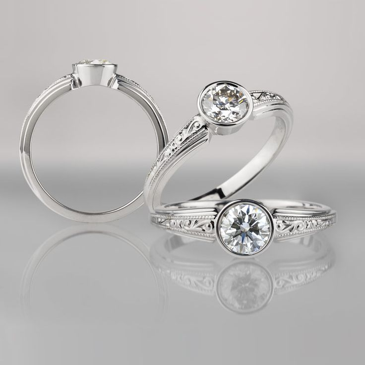 Pretty ring....Low profile for active lifestyles. yup.