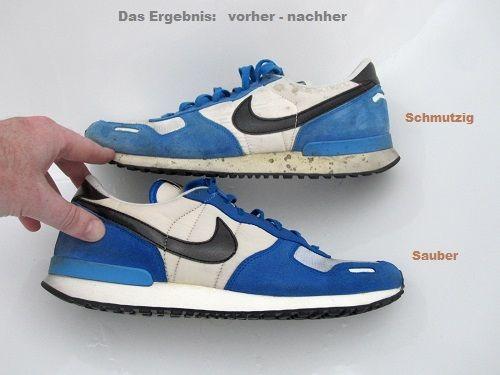 Turnschuhe und Sneaker schnell und einfach reinigen - nützliche Tipps und Tricks um verschmutzte Sportschuhe zu säubern und zu pflegen