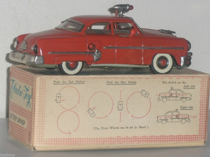 1950's Japan Mizuno Electromobile Tin B/O Car With Working ...