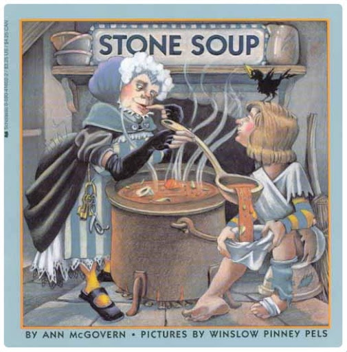 Simply Speech: Stone Soup, Anyone?-cute winter book for kids with activities to go along with the book. Pinned by SOS Inc. Resources. Follow all our boards at pinterest.com/sostherapy/ for therapy resources.