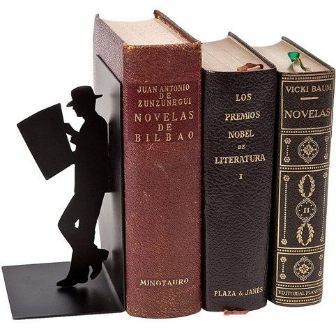 The Reader Bookend by The Literary Gift Company                                                                                                                                                     More