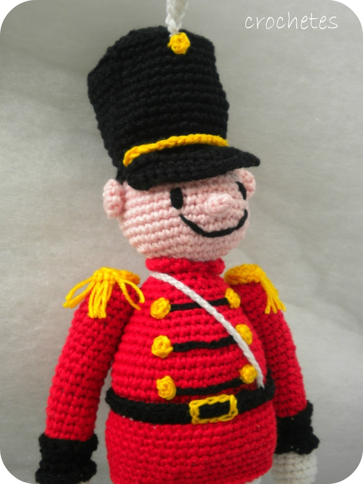 Free Knitting Pattern Toy Soldier : 86 best images about C : Crochet : Character on Pinterest ...