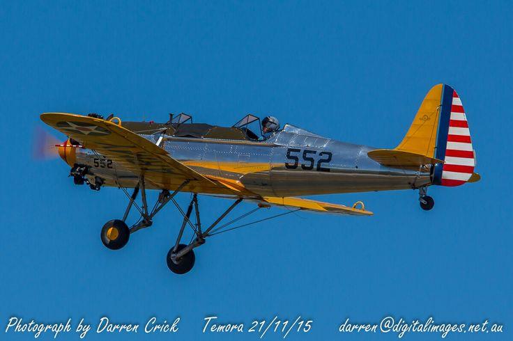 Ryan PT-22 VH-RPT at #Temora 21/11/15. #avgeek #aviation #photography #canon #Airshow Aviation Museum Canon Australia