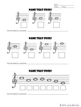 FREE Treble Clef Music Note Puzzle #musiced #musicworksheets