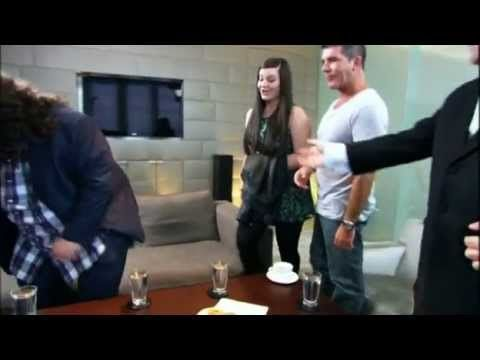 ▶ Simon Cowell with Jonathan and Charlotte - YouTube