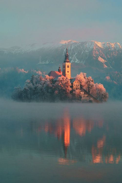 Frosty, Lake Bled, Slovenia