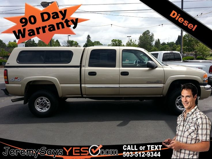 2005 GMC Sierra 2500HD Duramax Diesel For Sale in Portland Buy Here Pay Here Trucks For Sale in Portland Bad Credit Car Loans Buy Here Pay Here http://jeremysaysyes.com/truck-detail/?truck_id=425 #jeremysaysyes #pdx