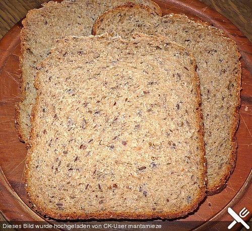 Vollkornbrot für den Brotbackautomat (Rezept mit Bild) | Chefkoch.de