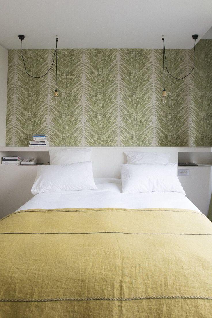 Slaapkamer uit Parijs met stijlvolle elementen   Slaapkamer ideeën