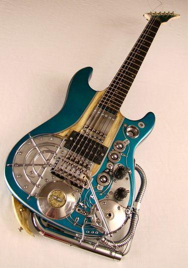 Memphiscaster guitar by Tony Cochran Custom Electric Guitars