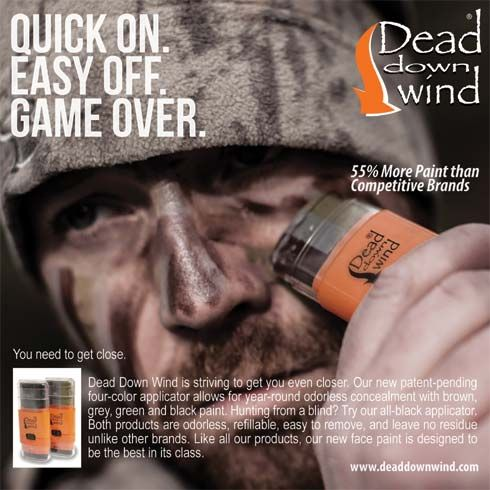 hunting face paint | Dead Down Wind intros Ambush Face Paint System | #Bowhunting