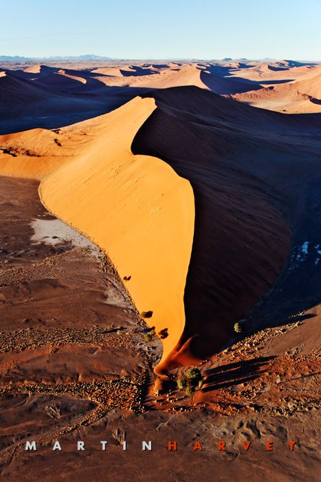 The mighty red dunes of Sossusvlei