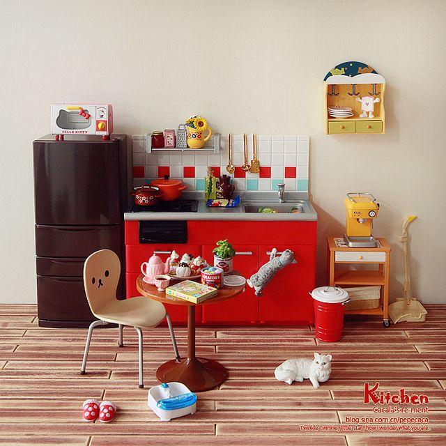 Re Ment Kitchen Set: 43 Best Re-ment Images On Pinterest